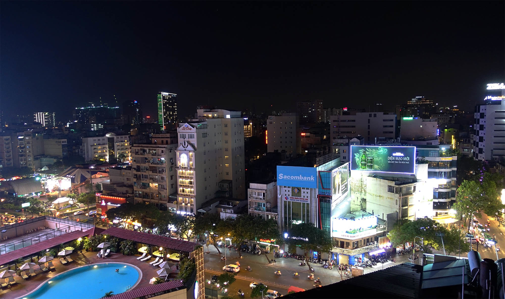 Ho Chi Minh City by Night (Vietnam)
