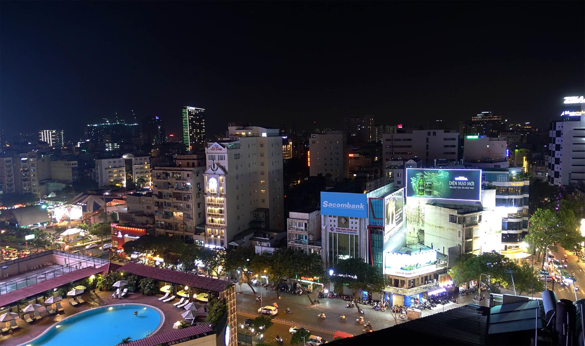 Ho Chi Minh City by Night (Vietnam)