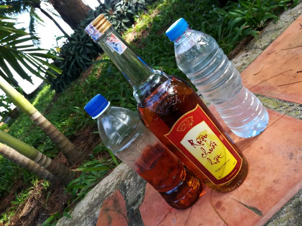 Reiswein Bananenwein Mekong-Delta