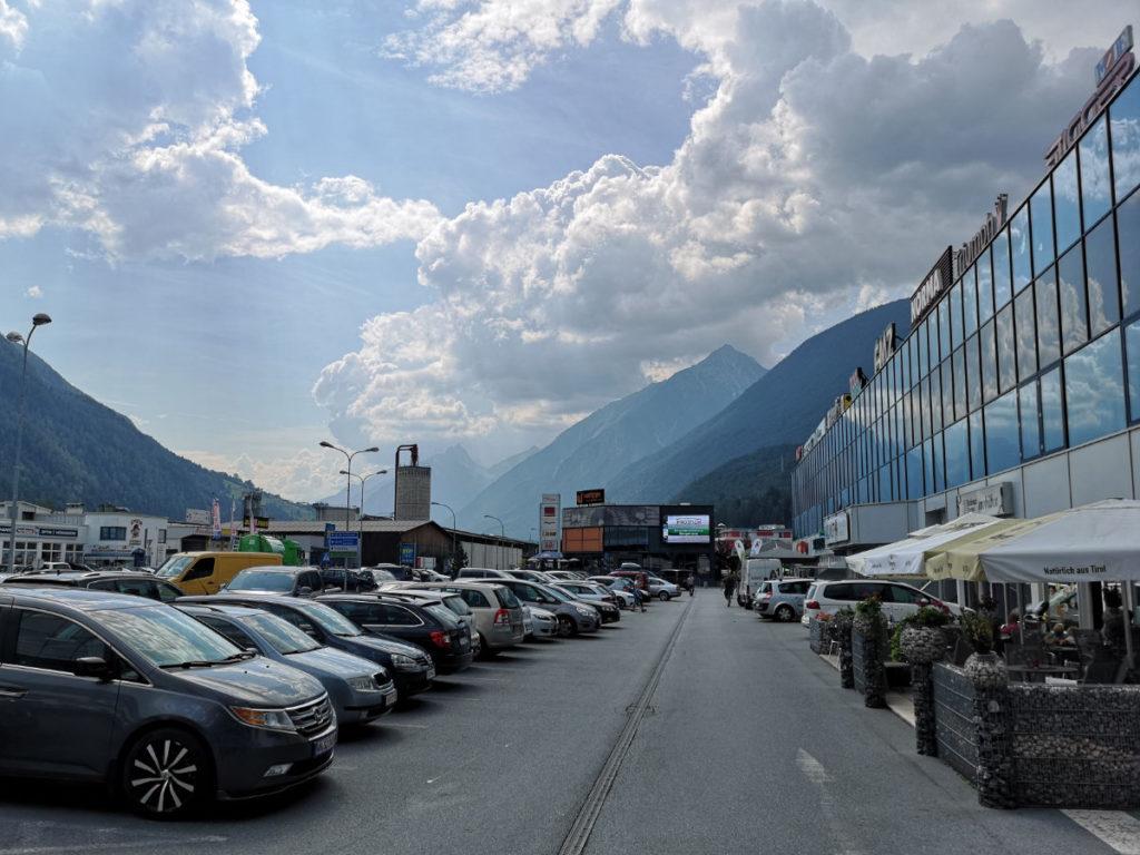 Imst Österreich Industriegebiet Shopping