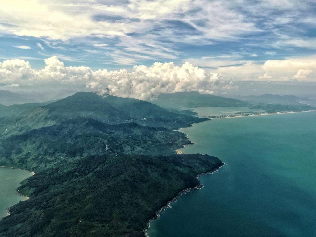 Der Hai-Van- oder Wolkenpass zwischen Hue und Danang.