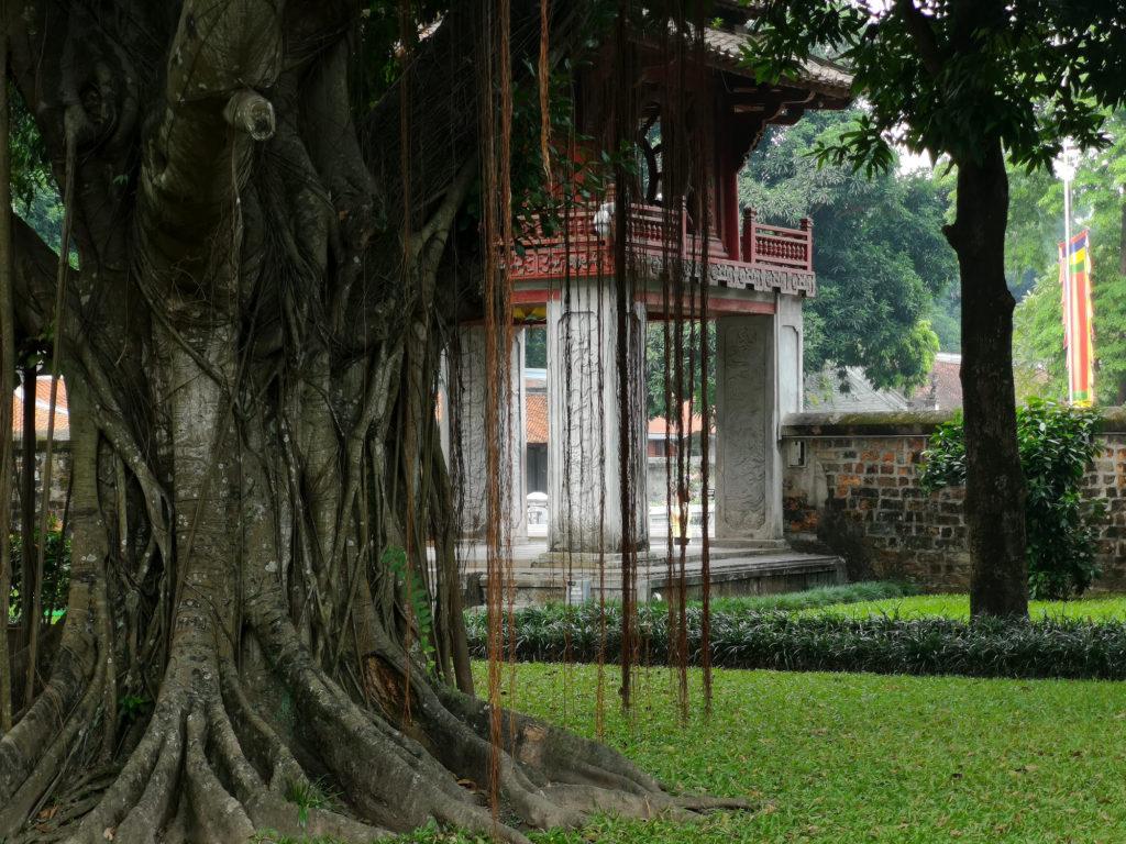 Literaturtempel in Hanoi, Vietnam