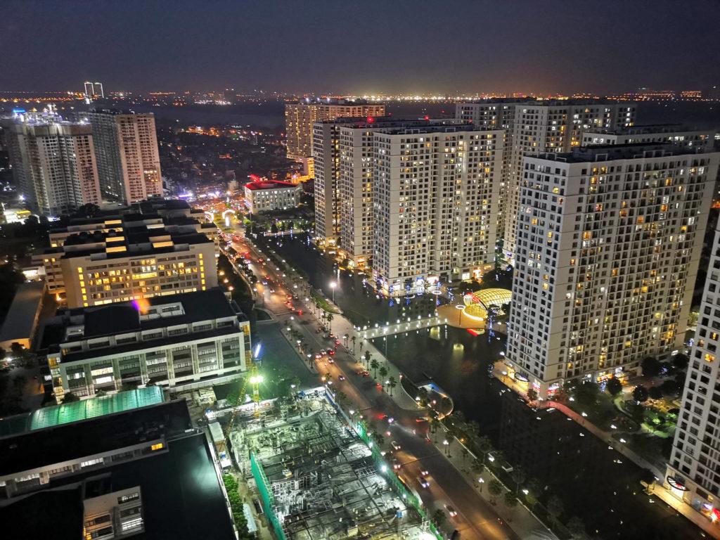 Hanoi, Blick über die Stadt.