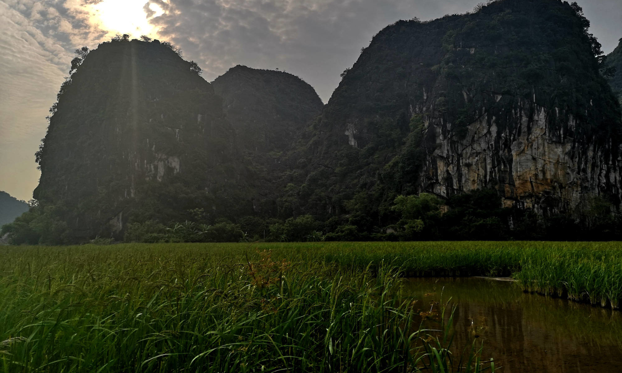 Die «Fussgänger-Halong-Bucht» bei Ninh Binh, Vietnam, Asien