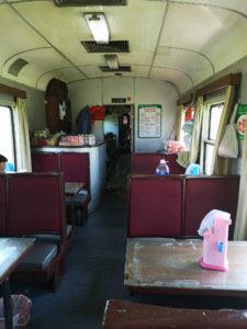 Vietnam Railways: Speisewagen