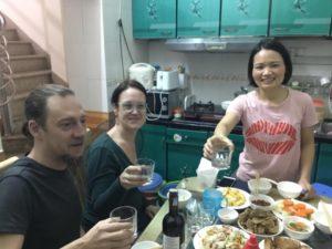 Hanoi Homestay Gastfreundschaft