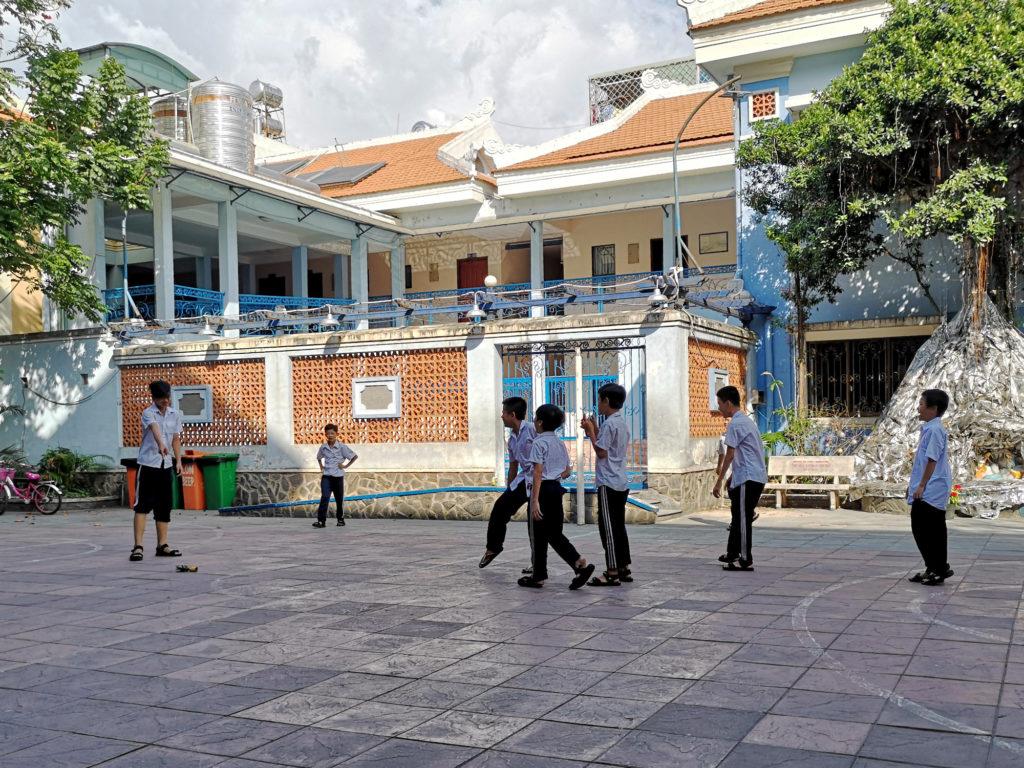 Enfants à la maison chance, Saigon, Vietnam