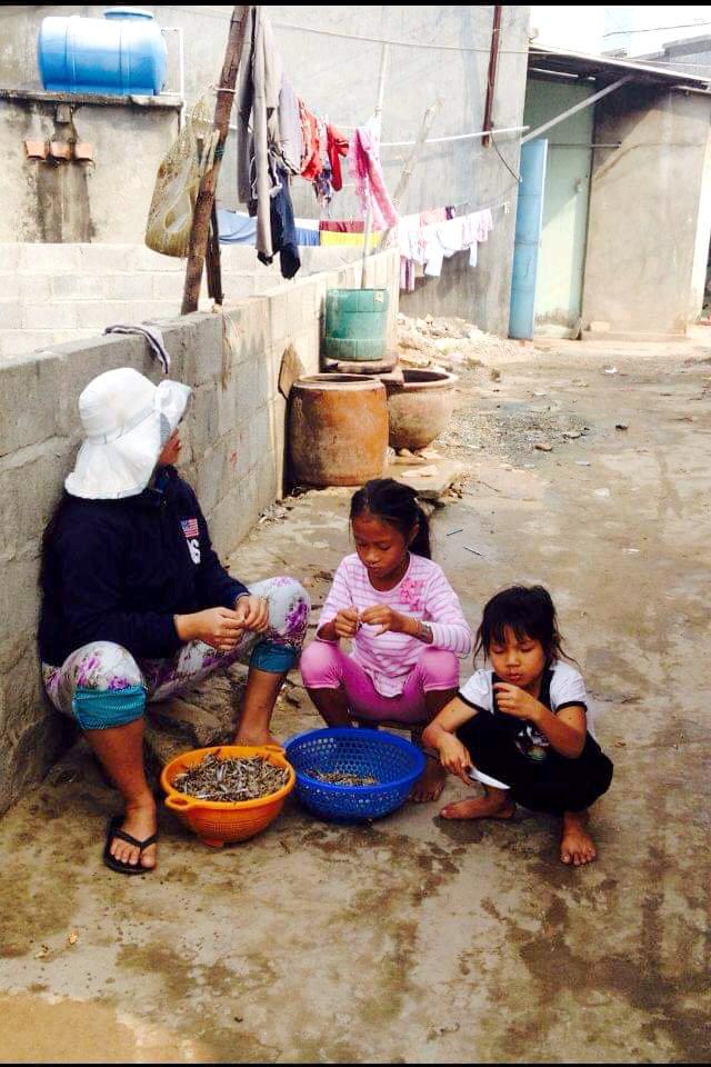 Vietnamesisches Dorfleben in Mui ne
